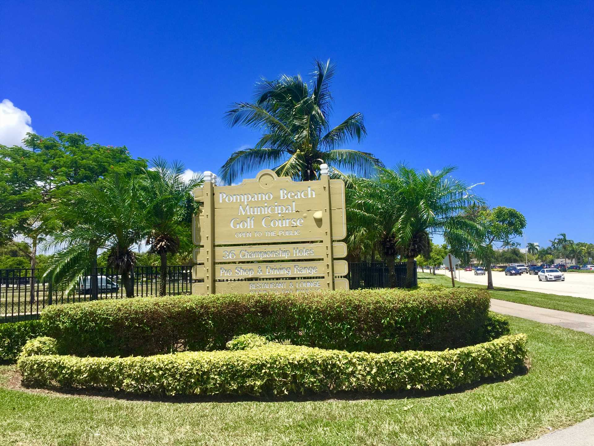 The challenging Pompano Municipal Golf Course has been desig