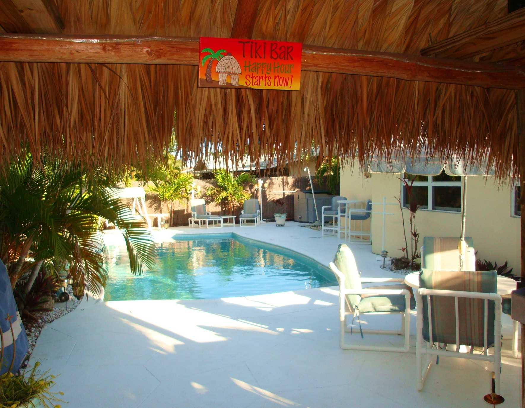 Tilki Hut is perfect spot to relax after a dip in the pool.