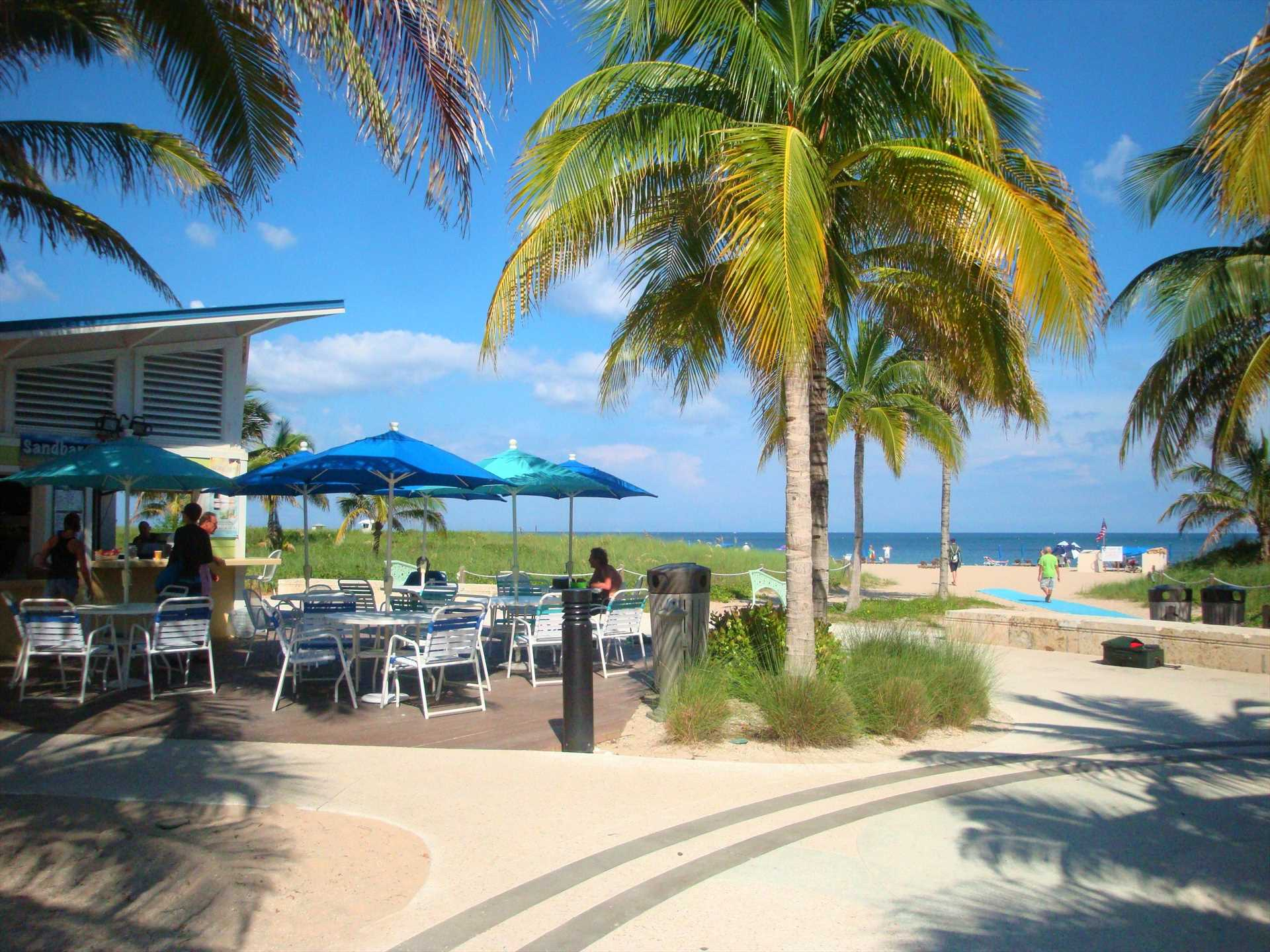 Family friendly Pompano Beach is just a 20 minute drive with