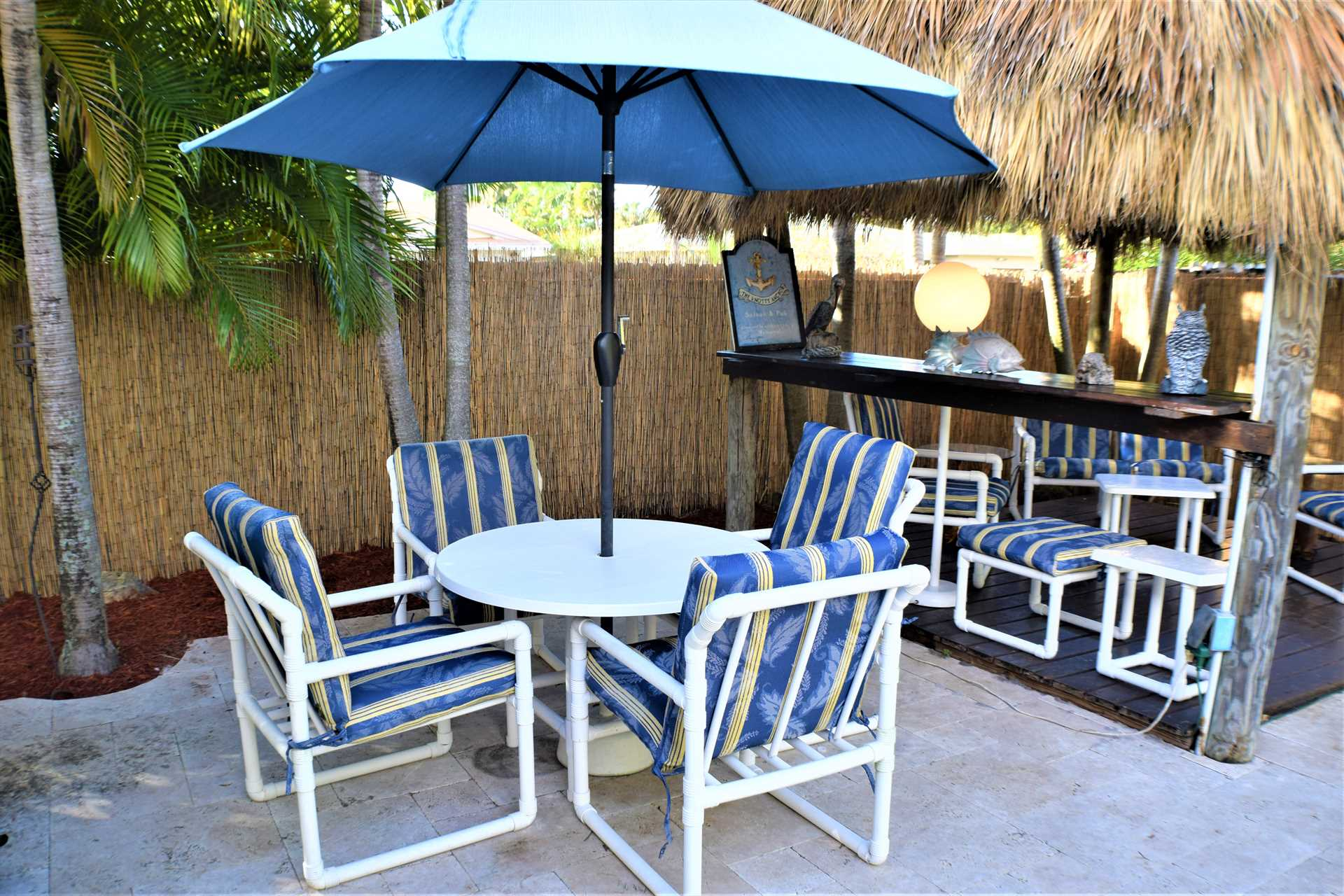 Dine poolside and enjoy the South Florida Lifestyle.
