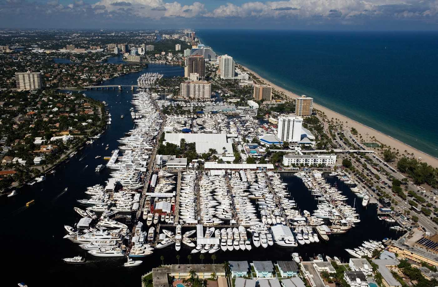 Ft Laud Boat Show in November is just a mile away.