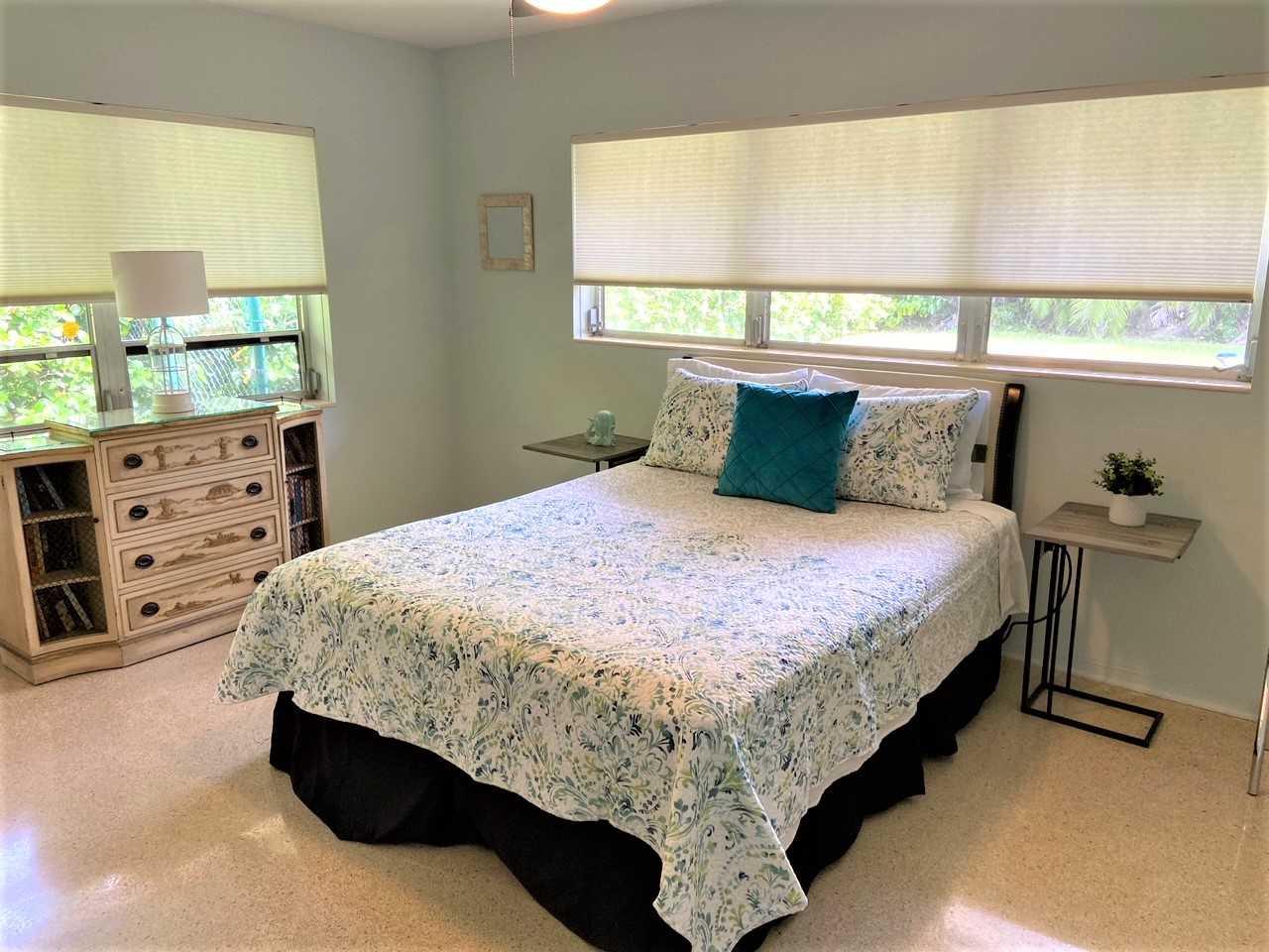 Third bedroom has queen bed.