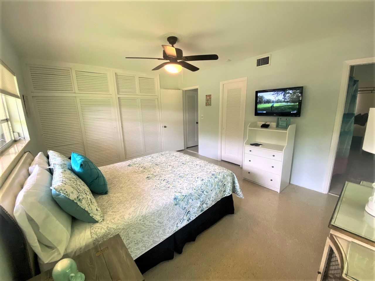 Third bedroom also has HDTV.