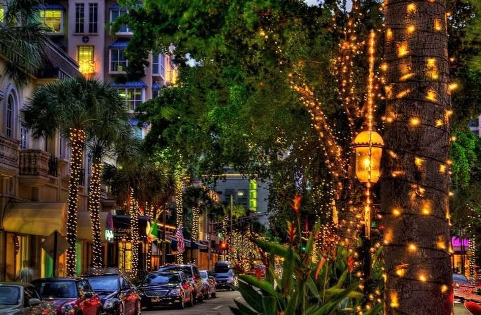 Experience the night life on Las Olas Boulevard.
